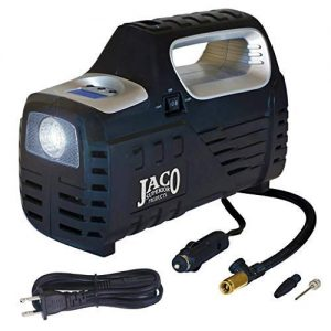 image of a portable tire inflator and air compressor by JACO
