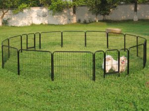 image of a portable dog fence