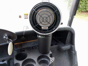image of a golf cart heater