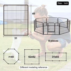 bestpet brand portable fence and playpen for dogs