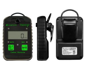 image of a portable handheld carbon monoxide detector